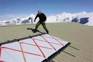 Využití solární energie v Antarktidě