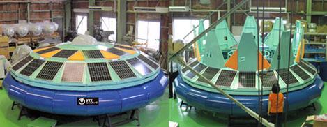 solární čistička vody