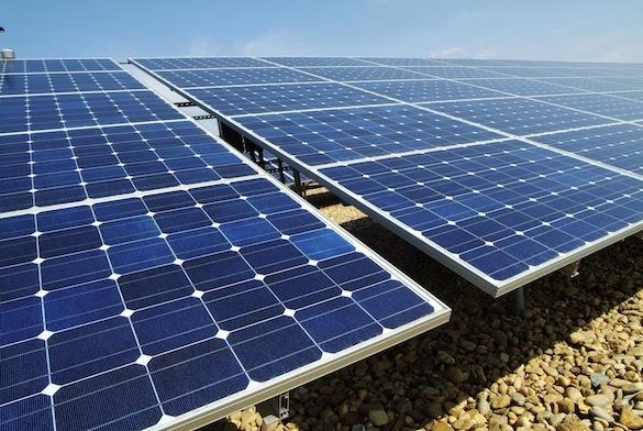 solární energie - fotovoltaické solární panely