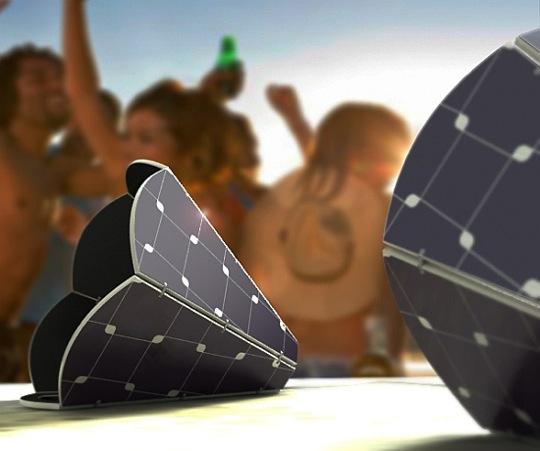 Gramo - solární reproduktory