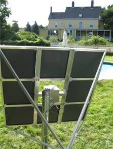 využití solární energie pro vytápění - heliostat