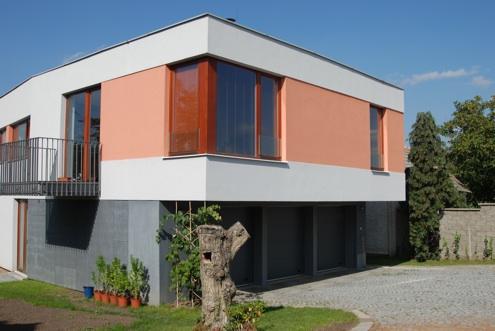 Nízkoenergetický dům Vila Štěrboholy