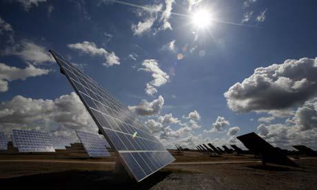 Portugalsko - solární energie
