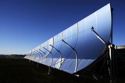 SkyFuel - solární termální elektrárna