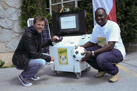 solární energie - Solafrica - Solární elektrárna - Mistrovství světa ve fotbale