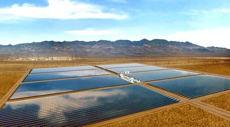 Solar One - solární termální elektrárna v Nevadě, společnosti Acciona
