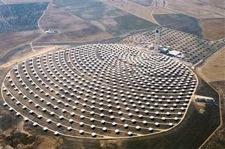 Solární elektrárna Španělsko