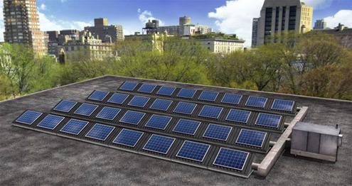 solární fotovoltaika a solární termika v jednom systému SolarDuct PV/T