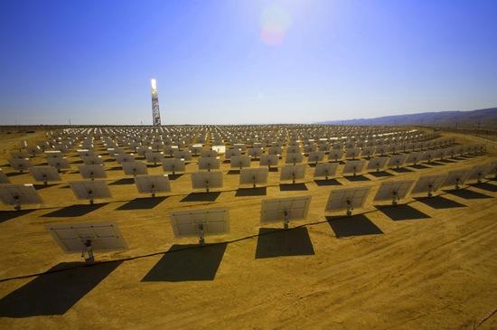 solární termální elektrárna Brightsource