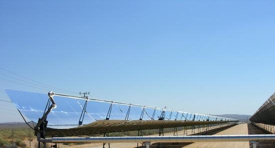 solární termální elektrárna