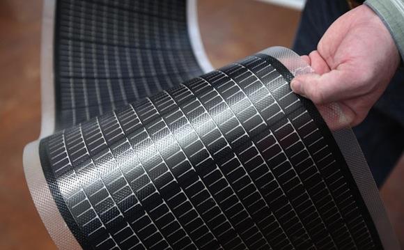 solární energie - tenkovrstvé solární články