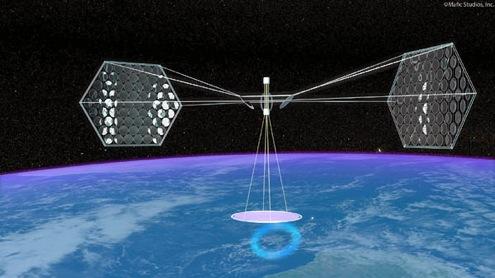 Solární energie-vesmírné elektrárny