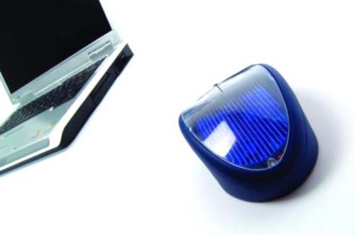 Solární myš