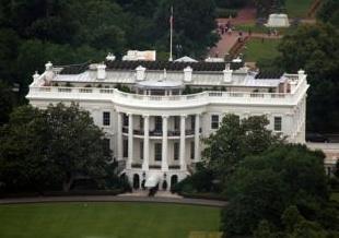Ekologické bydlení obrázky solární panely Bílý dům