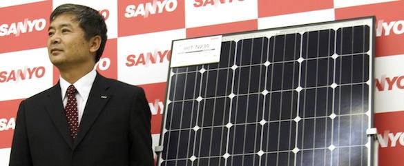 solární panely - Sanyo HIT N230