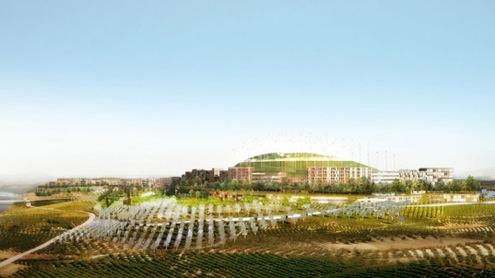 Španělsko - Rioja - Logroño Montecorvo Eco City