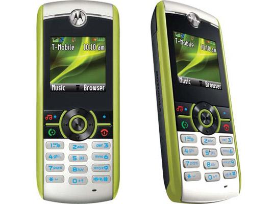 recyklovatelný mobilní telefon Motorola Renew W233