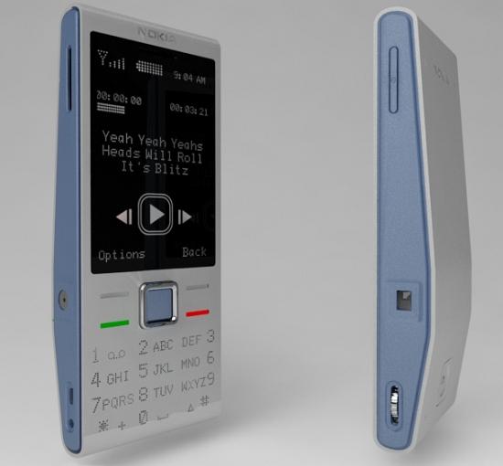mobilní telefon z recyklovaného hliníku Nokia Ink 01