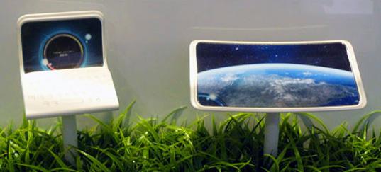 ohebný mobilní telefon Kyocera