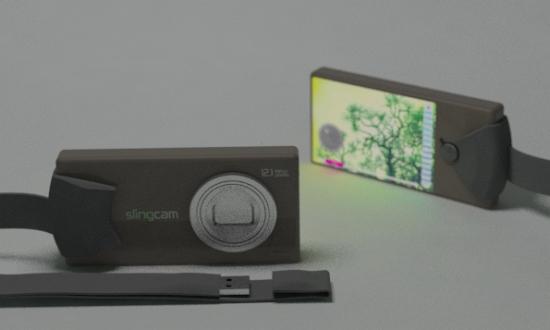 digitální foťák z recykovaných plastů Slingcam