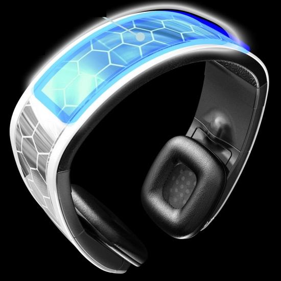 solární sluchátka Q-Sound návrháře Shepeleffa Stephena