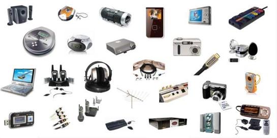 spotřební elektronika