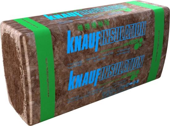 minerální přírodní izolace ECOSE od Knauf Insulation