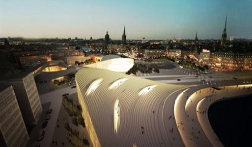Švédsko - Stockholm - revitalizace městského centra