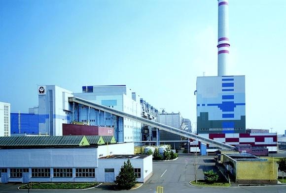 uhelné elektrárny - ČEZ Prunéřov