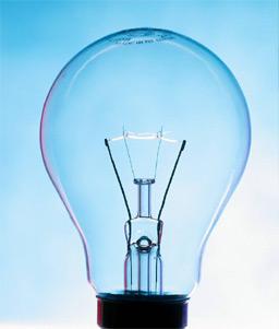 Úsporné žárovky šetří elektřinu
