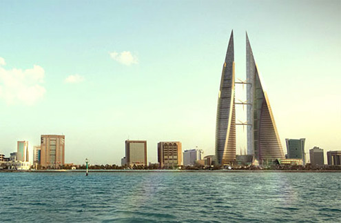 Bahrain World Trade Center - větrné elektrárny