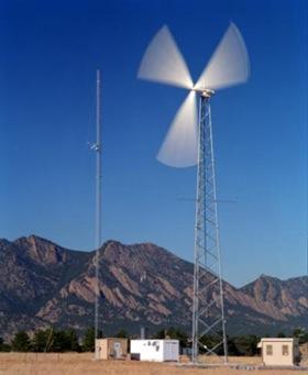 malé větrné turbíny