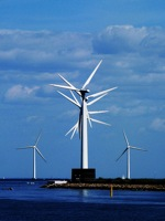 Švédsko - větrné turbíny