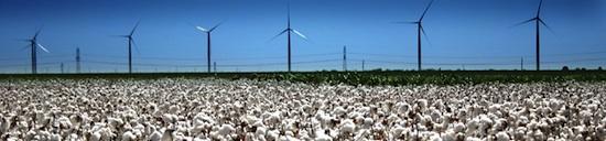 Větrná farma Roscoe, Texas