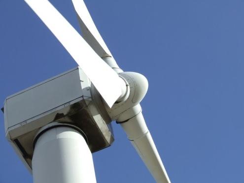 větrné turbíny Anglie
