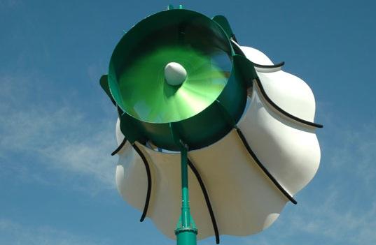 větrná turbína WindTamer