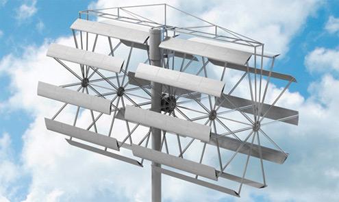 Větrné turbíny Broadstar AeroCam