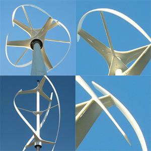 Větrné turbíny Quit Revolution