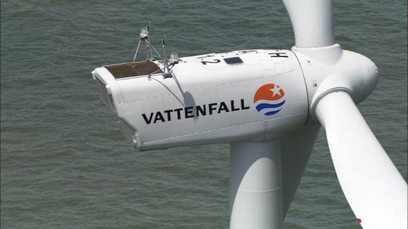 větrné farmy - Thanet Wind Farm - Británie - pobřežní větrná farma