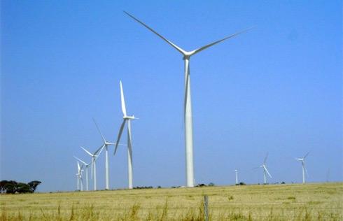 větrné turbíny v Texasu