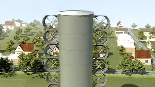 větrné turbíny Optiwind