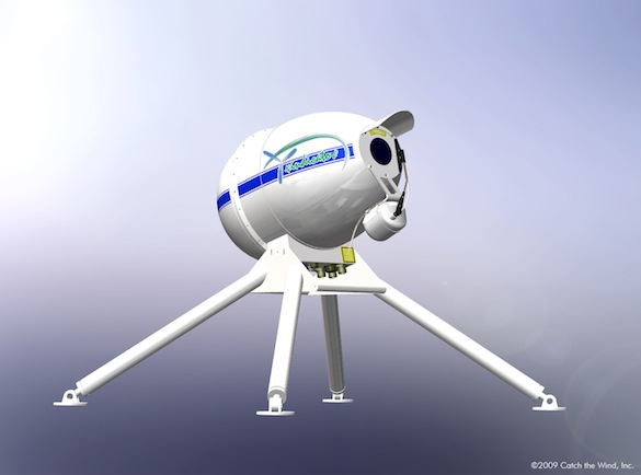 Ekologické bydlení obrázky větrné turbíny Vindicator