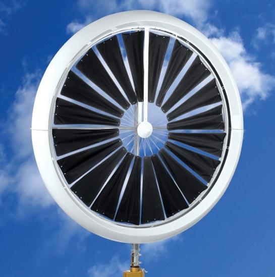 větrné turbíny WindTronics