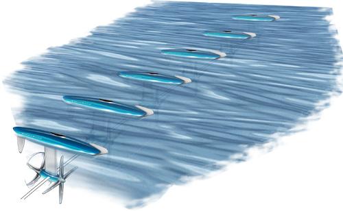 Vodní turbíny - Bourne Energy