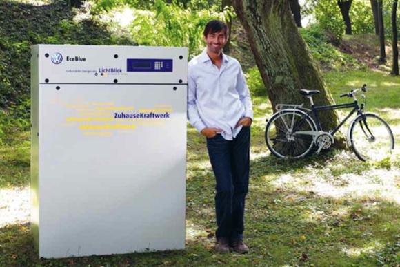výroba energie - domácí elektrárna Volkswagen Lichtblitz