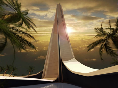 Mrakodrap Wave Tower v Dubaji