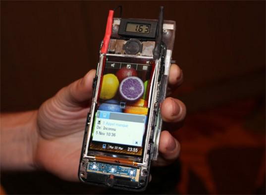 solární mobil
