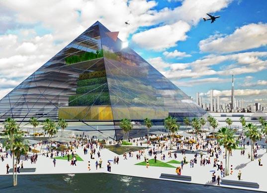 pyramidová farma