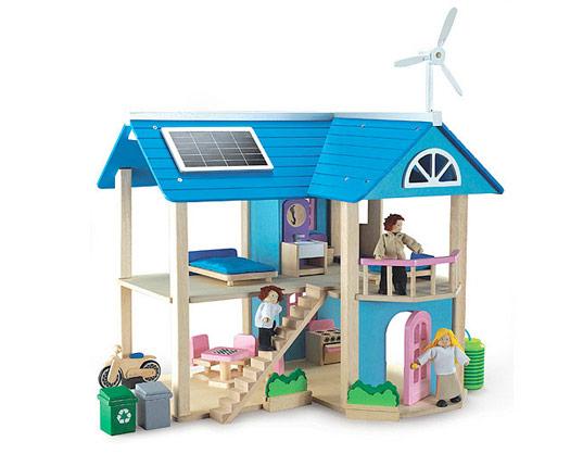 skrz naskrz ekologický domeček pro panenky